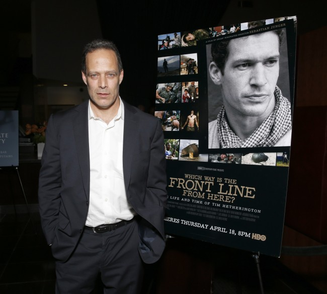 Director Sebastian Junger attends HBO Documentary Films' Which Way Is the Frontline From Here: The Life and Time of Tim Hetherington Los Angeles Premiere, on Thursday, April 4, 2013 in Los Angeles. (Photo by Todd Williamson/Invision for HBO/AP Images) Date: 05/04/2013