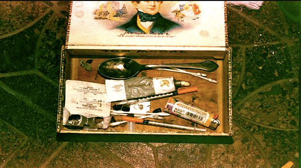 Kurt Cobain's stash box