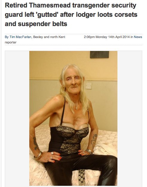 Screen shot 2014 04 16 at 10.25.33 Local News Watch: Transgender Former Soldier Appeals For Stolen Corsets