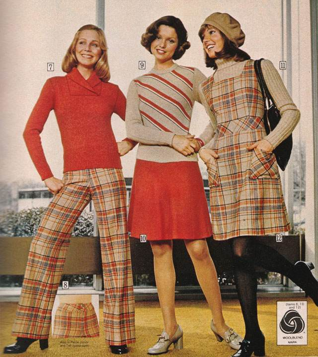 pages of polyester the sears 1974 catalog flashbak