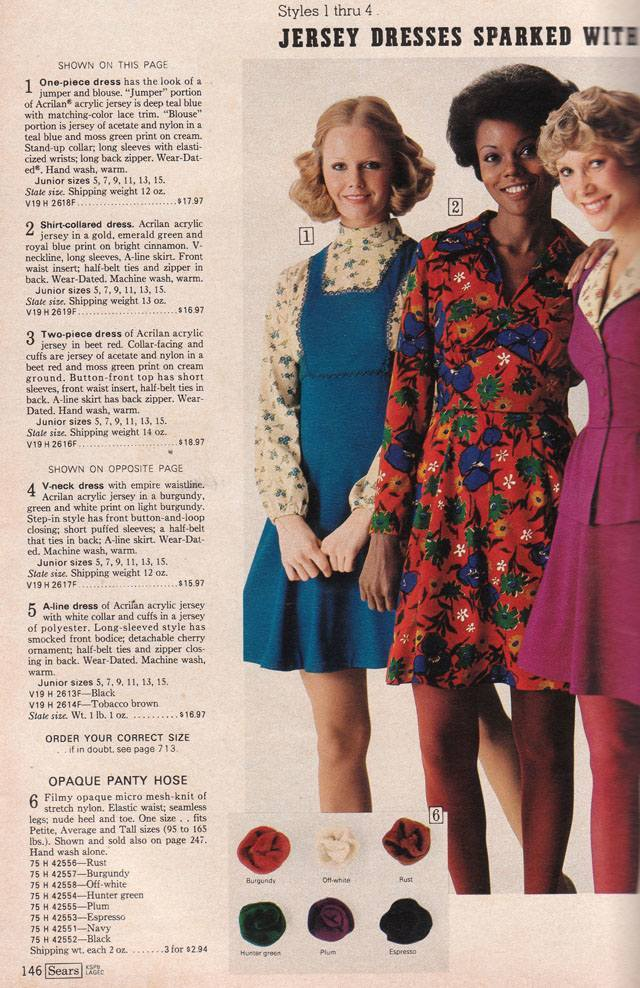 304bcf18fcc9 Pages of Polyester: The Sears 1974 Catalog - Flashbak