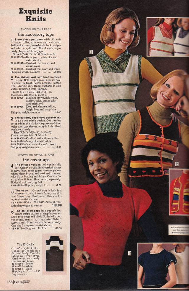 Sears 1974 Fall Winter Catalog 0036 Pages of Polyester: The Sears 1974 Catalog