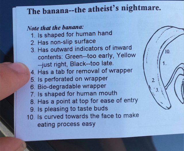 bananas for god
