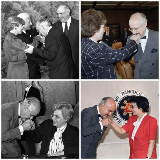 collage 1987: When Charming Hans Klein Danced With Big Haired Elke Koska