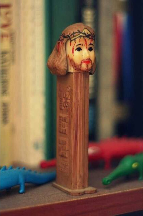 crucified pez 10 Terrible Easter Treats From Your Christian Childhood