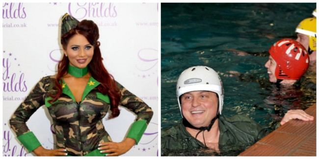 darren gough and amy childs Darren 'Sumbarine' Gough and ex TOWIE 'Star' Amy Childs Are In A Plutonic Relationship