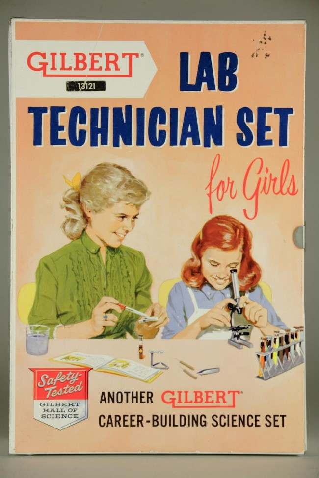 gilbert lab for girls Vintage Sexism: The A.C. Gilbert Lab Technician Set For Girls (1958)