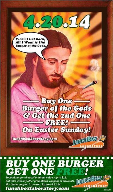 jesus burger