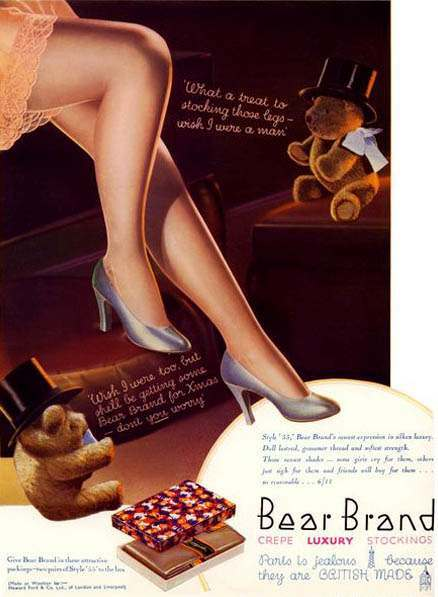 pervert teddy bears 5 Highly Troubling Vintage Adverts