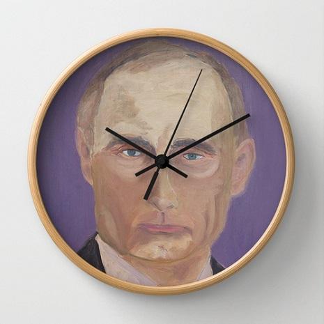 putin clock