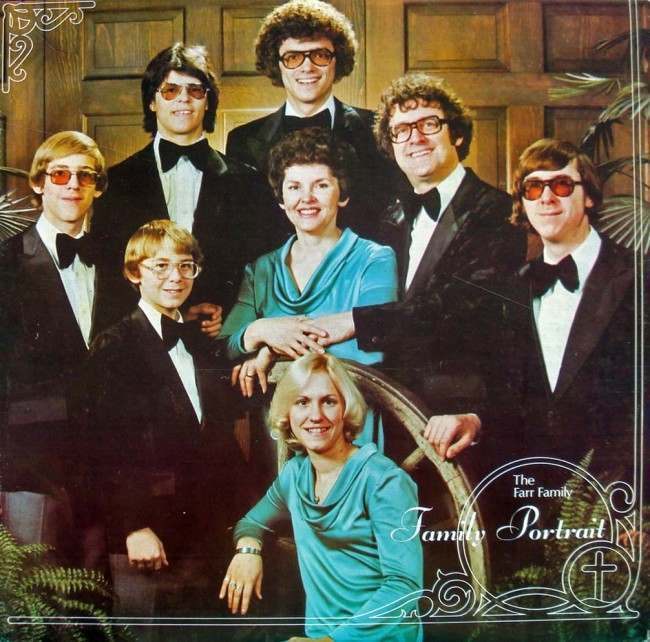 religious family album 15 Polyester Prayers:  Gospel Family Album Covers of the Seventies