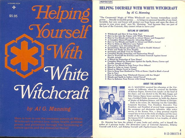 sbs Helping Yourself With White Witchcraft Al Manning 1972 Tomes Of Shame: Awful Nonfiction From The 1970s