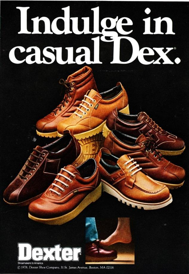 shoe advert Vintage Footwear Adverts Unlaced