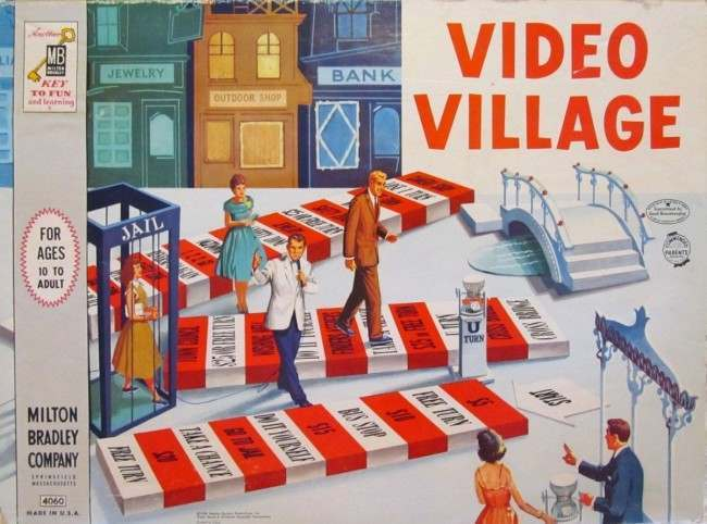 video village 16 Retro Board Game Curiosities That No Family Played Twice
