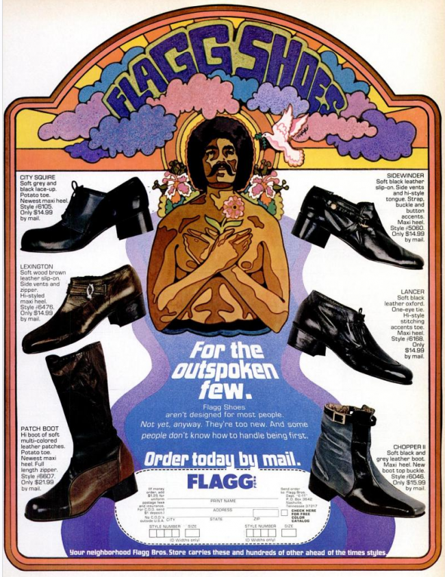 vintage footwear ad 1 Vintage Footwear Adverts Unlaced