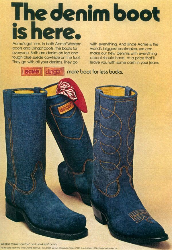 vintage footwear ad 7 Vintage Footwear Adverts Unlaced