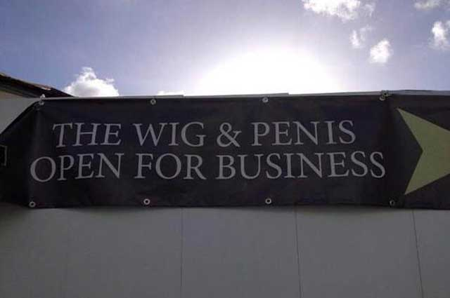 wig and pen is open truro