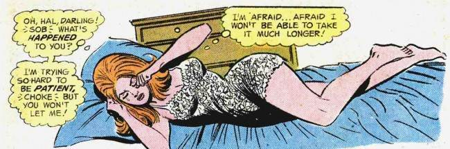 yl 123 11 Tormented And Alone: The Neurotic Dreams Of The Ladies Of Romance Comics