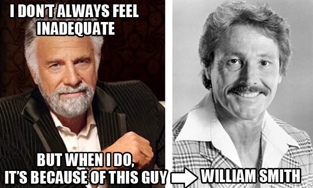 anorak news the most interesting man in the world actor william smith