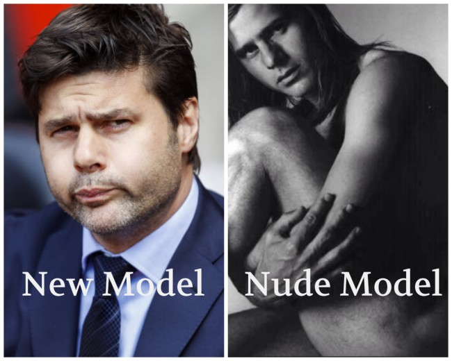 Mauricio Pochettino naked