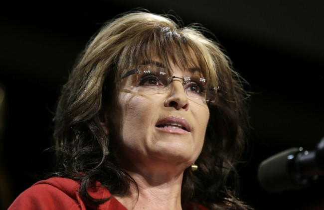 PA 19674070 Sarah Palin: Waterboarding Is How We Baptize Terrorists