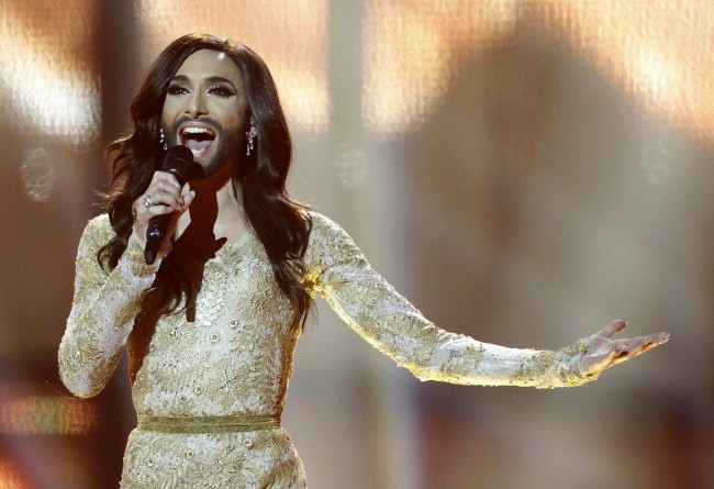 PA 19785252 Eurovision: Nice One Conchita Wurst But Frank Zappa And Steve Kardynal Did It First And Better