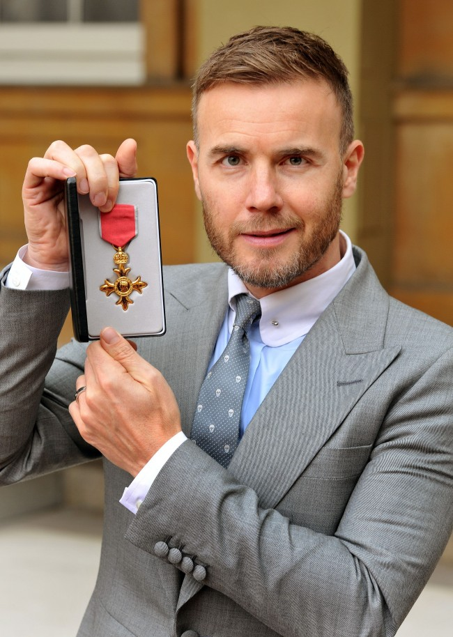 PA 19795871 Cameron Is Right: Of Course Gary Barlow Can Keep His Poxy OBE