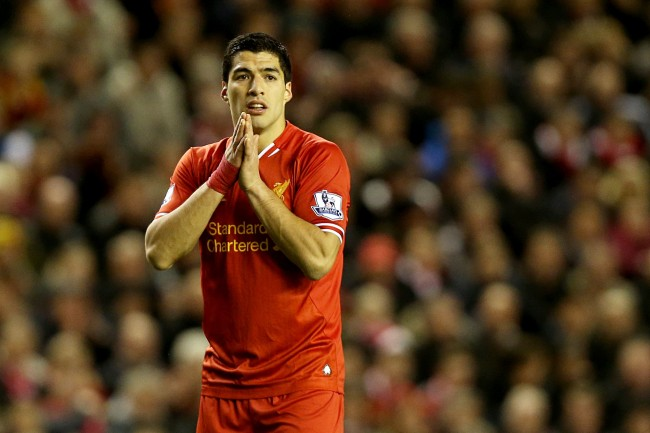 PA 19898356 1 Luis Suarez: Liverpool Fans Can Relax   Hes Not Been Injured By An Act of God