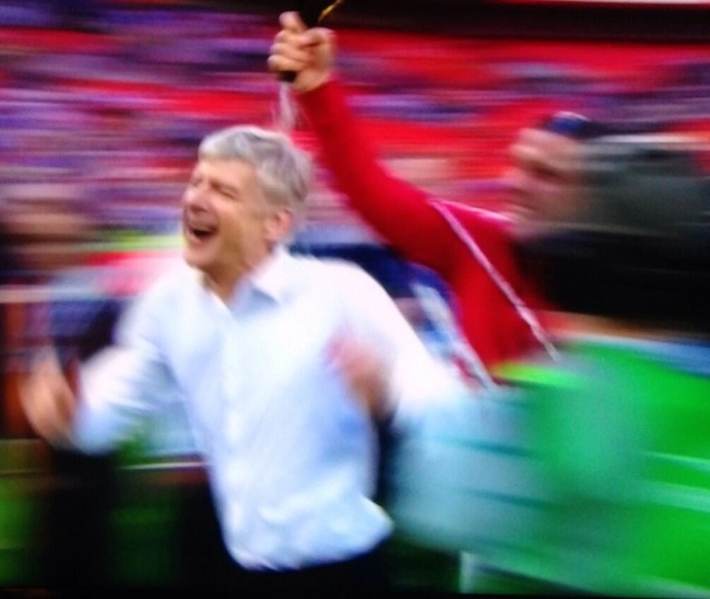 arsene wenger happy