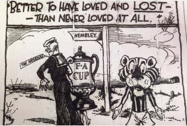 fa cup hill v arsenal 1930