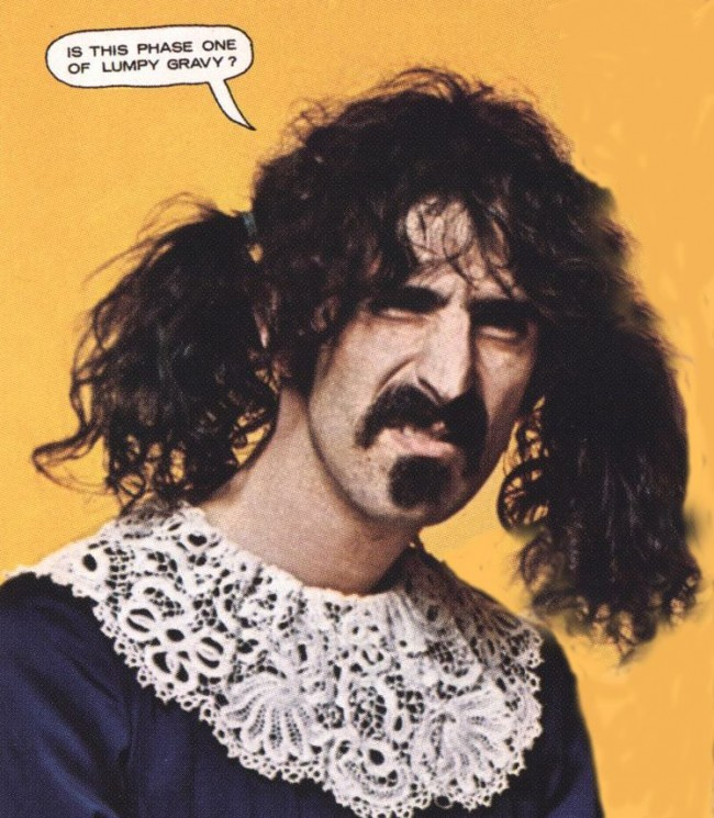 zappa Eurovision: Nice One Conchita Wurst But Frank Zappa And Steve Kardynal Did It First And Better