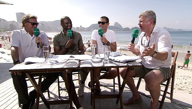 Chiles 2 Adrian… er, Adrian Chiles…uh…gives…. er, gives… uh… pause for… uh…thought