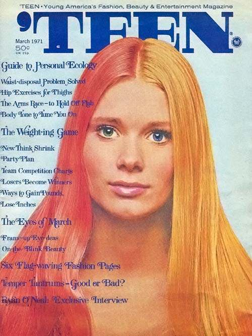 P00001 Peter Torks Dairy Erotica On Acid: A Look Inside The March 1971 'TEEN magazine