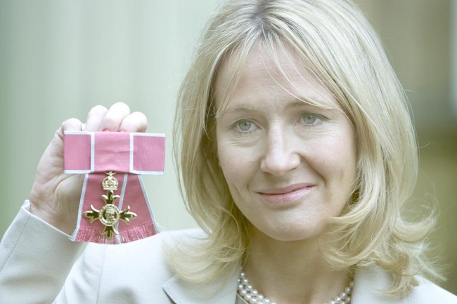 PA 1401984 JK Rowling Doesnt Want Scottish Independence