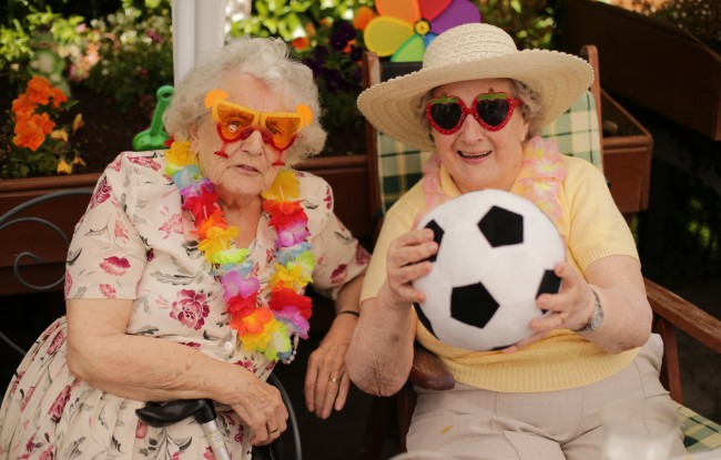PA 20136401 1 Faces of The Day: Bridget Mulread And Mona Venables Enjoy The Kildare World Cup Party