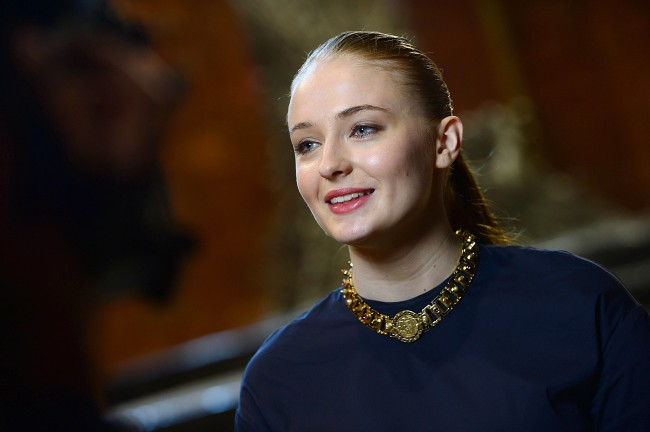 Actress Sophie Turner best known for her role as Sansa Stark