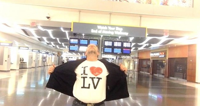 RICHARD DUNN vimeo Man Locked Inside Vegas Airport Driven Mad By Celine Dion