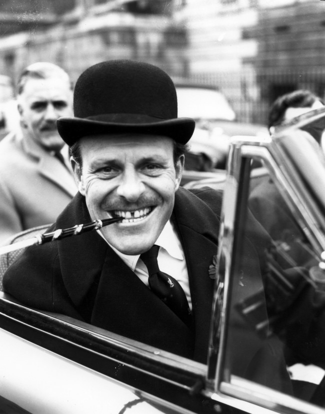 Terry-Thomas arriving at court. EDDIE WORTH/AP/Press Association Images