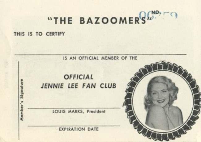 jennie lee bazoomers