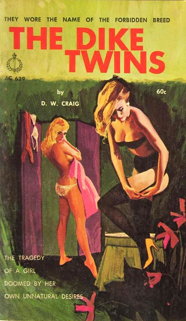 lesbian paperback 16 Abnormal Tales: 33 Vintage Lesbian Paperbacks From the 50s And 60s