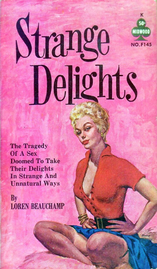 lesbian paperback 17 Abnormal Tales: 33 Vintage Lesbian Paperbacks From the 50s And 60s
