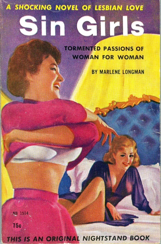 lesbian paperback 19 Abnormal Tales: 33 Vintage Lesbian Paperbacks From the 50s And 60s