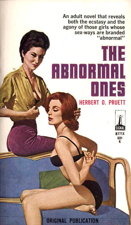 lesbian paperback 4 Abnormal Tales: 33 Vintage Lesbian Paperbacks From the 50s And 60s