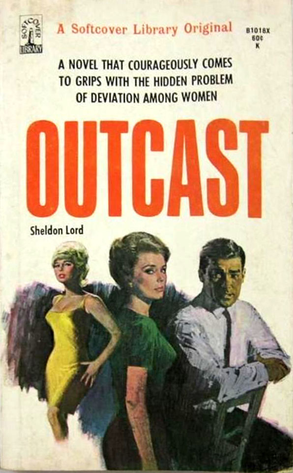 lesbian paperback 8 Abnormal Tales: 33 Vintage Lesbian Paperbacks From the 50s And 60s