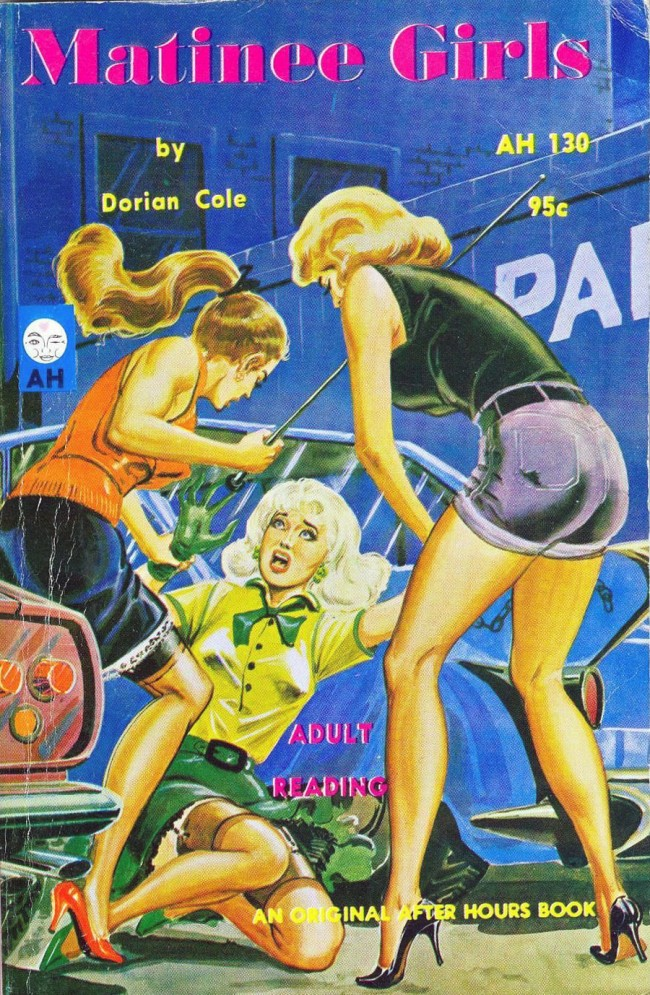 lesbian paperback 9 Abnormal Tales: 33 Vintage Lesbian Paperbacks From the 50s And 60s