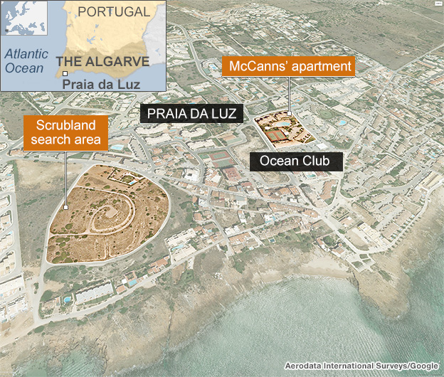 Anorak News | Madeleine McCann: 3 Suspects, All Parents Are ... on face map, housig m a map, restaurant map, floor map,