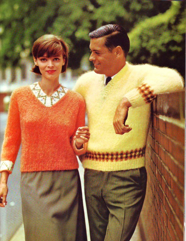 sweater studs 12 Those Swinging 60s Sweater Studs That Made Men Easy And Women Yield