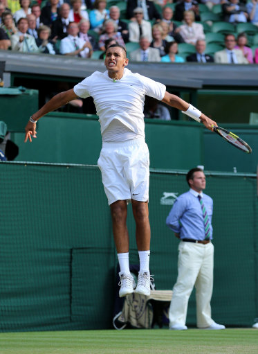 Tennis - 2014 Wimbledon Championships - Day Nine - The All England Lawn Tennis and Croquet Club