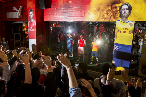 Launch of Arsenal Kit Trilogy