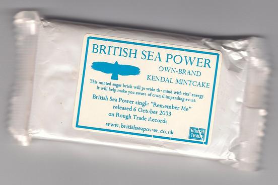 BritishSeaPowerKendalMintCake